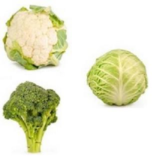 Broccoli-Cauliflower Cabbage